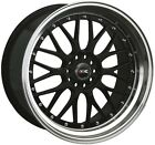 18X85 10 Rims XXR 521 5x1143 120 +25 Black ML Wheel Fits G37 Coupe Nissan 350Z
