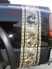Real Tree M4 Camo W Logos Truck Bed Stripes Stripe Decals Ram Chevy Gmc Duramax