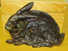 Hubbard Rabbit Four Leaf Clover Tray #1835 Dresser Card