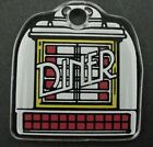 Diner Pinball Machine Plastic Key Chain Williams September 1990
