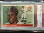 1955 Topps Roberto Clemente ROOKIE RC #164 PSA 6 EXMT