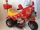 ELECTRIC MOTORCICLE 3 WEELS RECHARGABLE LIGTH 2 TO 10 YEARS  MUSIC HORN MP3