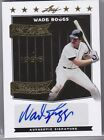 WADE BOGGS 2012 Leaf We are the Champions Gold Autograph #'d 4 5 auto