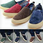 Mens Comfy Hot Casual Breathe Freely Canvas Sneakers Slip On Loafer Shoes New