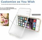 For Apple iPhone 6 7 7 Plus Case Cover Clear Soft Dust Proof Clear Soft Cover