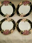 Cloisonne Peony salad plates, price is for all 4