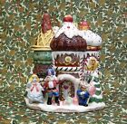 Nutcracker Sweets Castle Cookie Jar by Fitz & Floyd Christmas