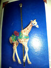 HALLMARK Keepsake 2005 PROUD GIRAFFE CAROUSEL RIDE Christmas Ornament NEW IN BOX