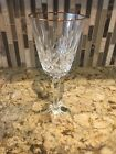Waterford - Golden Lismore Tall Goblet with gold detail around rim