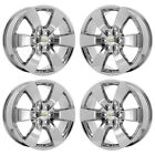 20 CHEVROLET TRAVERSE PVD CHROME WHEELS RIMS FACTORY OEM SET 5406 EXCHANGE