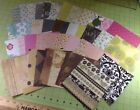 6x6 Scrapbook Scrapbooking Pages 41 Pink Green Grey Brown Blue Many Designs