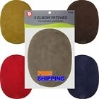 Iron-on Faux Suede Denim Oval Elbow Repair Patches Compare To Bondex