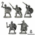 Tin Toy SOLDIERS Set RUSSIAN Knights MEDIEVAL Russia WARRIORS Metal Tin Figures
