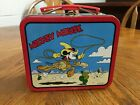 Vintage Walt Disney Rodeo Mickey Mouse Mini Lunch Box