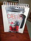 VitaMix CREATE Recipe Cook Book Professional Series 385 Pages w CD