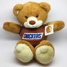 Vtg Heartline 1987 Vintage *Chompers the SNICKERS Teddy Bear* Stuffed Plush Toy