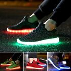 7 LED Light Lace Up Luminous Shoes Casual Sportswear Sneaker Shoes New Fashion