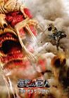 2015 Attack On Titan End of the World cinema  Movie brochure booklet