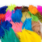 STRUNG SADDLE HACKLE Fly Tying 5 7 Feathers Wooly Bugger Streamers Chinese NEW