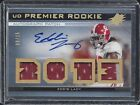 EDDIE LACY 2013 UD PREMIER QUAD ALABAMA CRIMSON TIDE ROOKIE PATCH AUTO RC #D 15