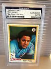 Tony Perez Cards, Rookie Card and Autographed Memorabilia Guide 30