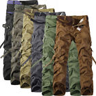 Brand NEW Combat Mens Cotton ARMY Cargo Pants Military Camouflage Camo Trousers