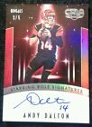 Andy Dalton Cards, Rookie Card Checklist and Autographed Memorabilia Guide 85