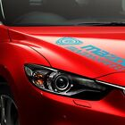 Mazda Rotary Mazdaspeed Turbo Symbol Car Racing Windshield Side Decal Sticker