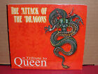 A Tribute to Queen - The Attack of the Dragons CD Evil Wings VIGHILIA Aztec Jade