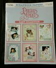 Leisure Arts Scrapbook Papers Leaflets Precious Moments Baby Collection
