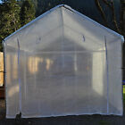 14 mil Heavy Duty Greenhouse Canopy Panel CLEAR Fiber Reinforced- Choose Size