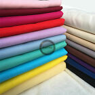 Plain Solid 100 Cotton Fabric Quilting Sewing Craft Patchwork Lot Yard ZAIONE