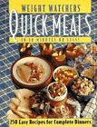 Cook Book Healthy Diet Weight Watchers Quick Meals in 30 Minutes or Less