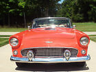 1956 Ford Thunderbird 2 Door Convertible with Soft Top no hardtop 1956 Ford Thunderbird Convertible with Continental Kit BEAUTIFUL INSIDE