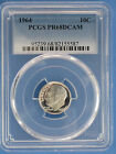 1964 Proof Roosevelt Dime PCGS PR 68 DCAM Cameo Pointed Tail 9