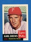 1991 Topps Archives Karl Drews 1953 Philadelphia Phillies #59 Baseball Card
