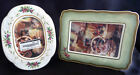 Fitz & Floyd Winter Holiday Oval & Oblong set of 2 (two) Frames! 30/249 & 30/250