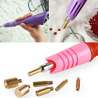 Hot Fix Iron on Applicator Wand Heat Tool for Rhinestone Crystal Gem Tool 7 Tips