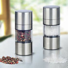 Manual Stainless Steel Salt Pepper Mill Grinder Muller Kitchen Tool Portable KY