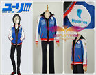 YURI!!! on ICE Blue Yuri Plisetsky Cosplay Costume Sportswear Custom