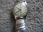 Vintage Octo Swiss Made waterproof Watch WWII Reserved Steel w Azium band