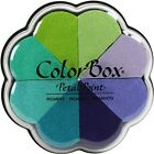 Clearsnap 170304 Colorbox Pigment Petal Point Option Pad 8 Colors Serenity NEW
