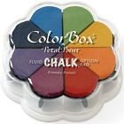 Colorbox Fluid Chalk Petal Point Option Ink Pad 8 Colors Primary Pastels