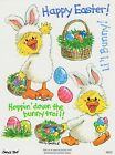 Suzys Zoo Stickers 25 Sheets Easter Bunny Rabbit Eggs Down the Trail Ducken