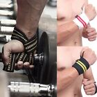 Wrist Support Straps Wraps For Weight Lifting Sport Wristbands Hand Bands US D6