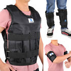 New Adjustable Weighted Vest 40LBS Fitness Weight Training Workout Boxing Jacket
