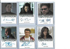 2014 Rittenhouse Continuum Seasons 1 and 2 Autographs Guide 41