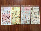 Daisyland Sticker Sheets Kawaii Cute Desserts Sweets