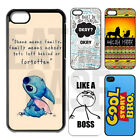 For iPhone Models CUSTOM Case Cartoon Hard Back Cute Funny Disney Movie Cover