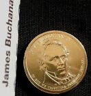 2010 P 1 James Buchanan Presidential Dollar BU